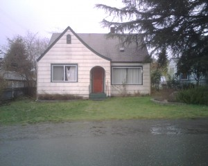 The ugly house I lived in while I went to Evergreen