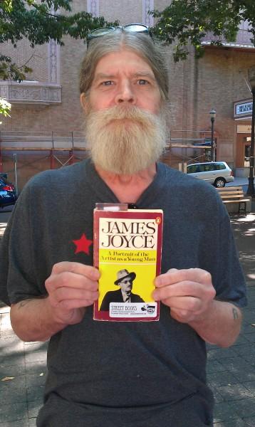 Jim goes for James Joyce